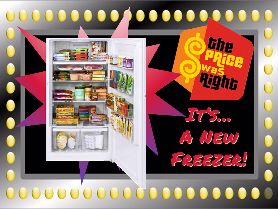 Food Pantry Freezer from Central UMW